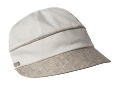 Hydrangea Newsboy Cap, White