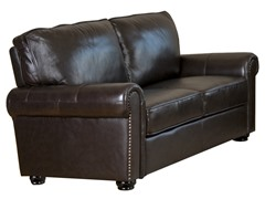 Abbyson Living Bellagio Leather Loveseat