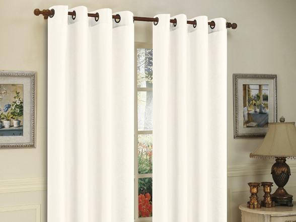2 Pack Curtain Panels With Grommets