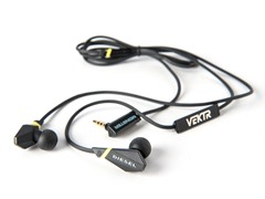 VEKTR In-Ear Headphones w/iOS Remote