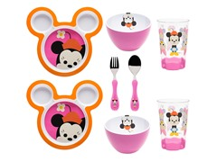 Big Face Minnie Mouse 8-Piece Set