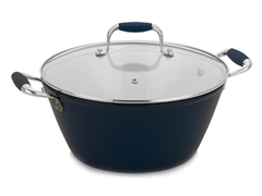 Fagor 3 Qt. Cast Iron Soup Pot-2 Colors