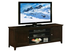Bradley 72in Solid Oak TV Console