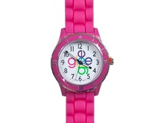 Crisscross Logo Watch - Pink Band