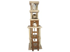"83"" Premium Cat Tree Condo - Beige"