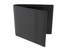 ST Dupont Black Leather Billfold Wallet