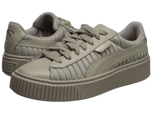purchase cheap 4c1d0 85f04 PUMA Women's Basket Platform En Pointe Wn Sneaker