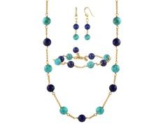 Lapis & Turquoise 3-Piece Set