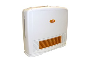 Ceramic Heater + Humidifier White/Orange