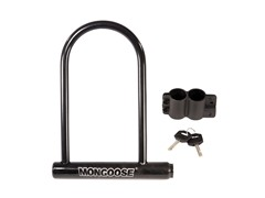 Mongoose Large Bicycle U-Lock