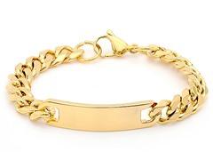 18kt Gold Plated Cuban Bracelet