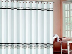 Klyne Square Shower Curtain - 4 Colors