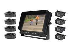 Weatherproof Backup Camera System