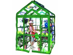 Walk-in 3-Tier 12-Shelf Kids Greenhouse