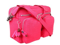 Sherpa Carry-On Tote, Vibrant Pink