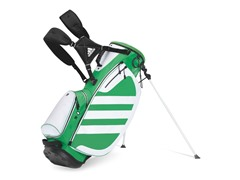 adidas Samba Golf Bag - Green/White