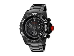 Racer Chronograph, Black / White