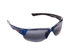 Semi Rimless Clear Blue Metallic 2-Tone Gray