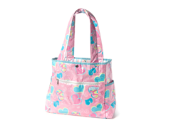 Groovy Love Tulip Tote Bag