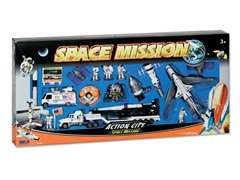 20-Piece Space Shuttle Playset