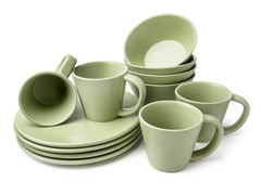 12pc Dinnerware Set - 4 Colors