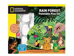 Rainforest Plaster Playset