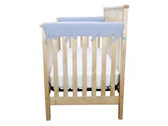 Jersey Crib Wrap Med Rail Cover for Crib Sides - 5 Colors
