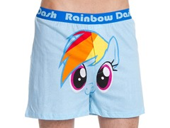 Rainbow Dash Face Boxer