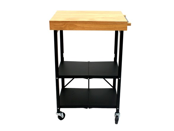 Origami Foldable Kitchen Island Cart 2 Colors