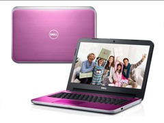 "Dell 17.3"" Quad-Core Laptop - Lotus Pink"