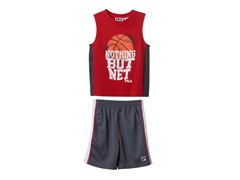 Boys Tank & Short Set - Basketball