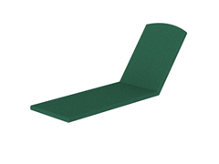 Nautical Stackable Chaise, Forest Green