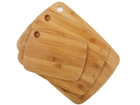 Core Bamboo 3-Piece Cutting Board Set