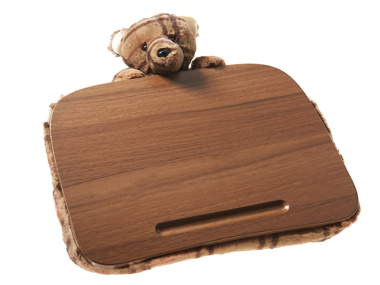 Deskeez Lapdesk with Plush Animal