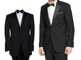 Men's 2 Piece, 2 Button Tuxedos