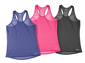 Fila Move It Loose Tank, (S-3X)