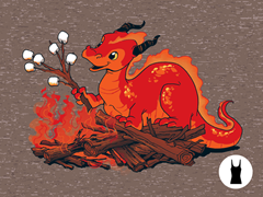 Smore the Dragon Tri-Blend Tank