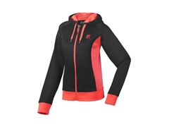 Fila Women's Fleece Hoody, Blk/Pink (M)