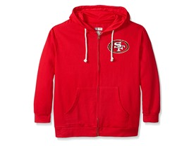 San Francisco 49ers Women's Full Zip Fleece (XL)