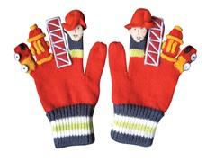 Fireman Knit Gloves (LG)
