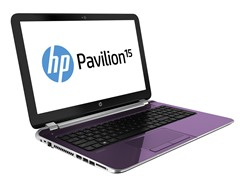 "Pavilion 15.6"" AMD Quad-Core Laptop - Purple"