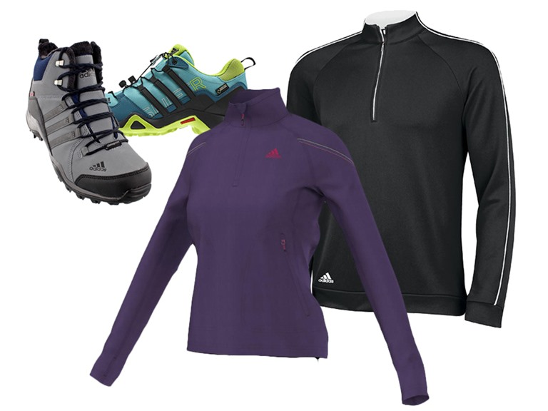Adidas Outdoor Footwear and Apparel