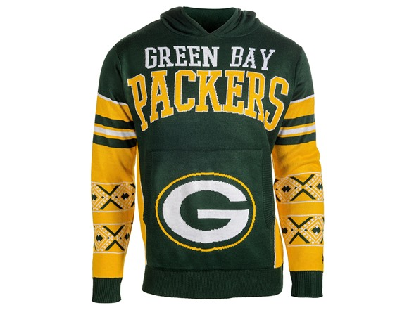 official photos 625ee 27501 Green Bay Packers Youth Boys 8-20 Long Sleeve Hooded ...