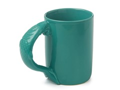 Green Fish Handle Mug