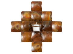 Cross Votive Wall Decor