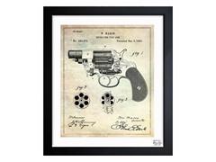 Revolving Fire Arm 1881 (3 Sizes)