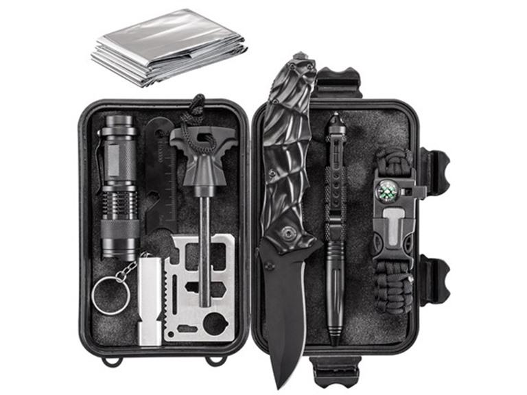 Army Gear 10-in-1 Essential Emergency Survival Kit