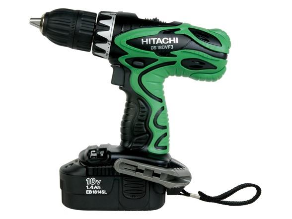 Hitachi DS18DVF3M 18V Cordless NiCd Driver Drill HG94234A