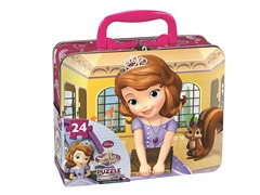 Sofia 24 pc Puzzle in Tin Case