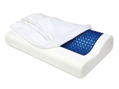 Cool Gel Top Memory Foam Contour Pillow